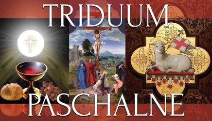 Plan Triduum Paschalnego w naszej parafii