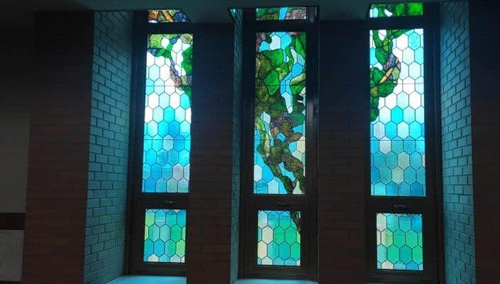 Nowy witraż w naszej świątyni